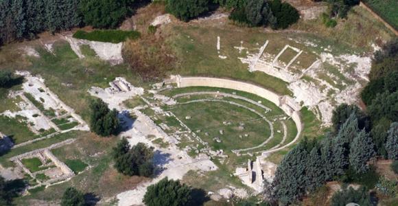 Anfiteatro greco romano Locri Epizefiri
