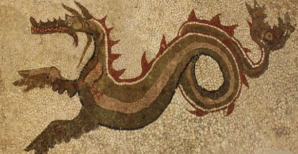 Mosaic of the Drago