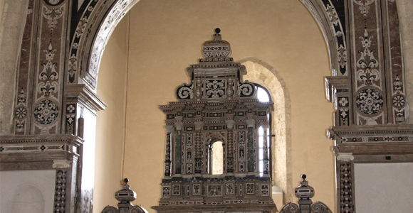 Altare chiesa di san francesco a Gerace