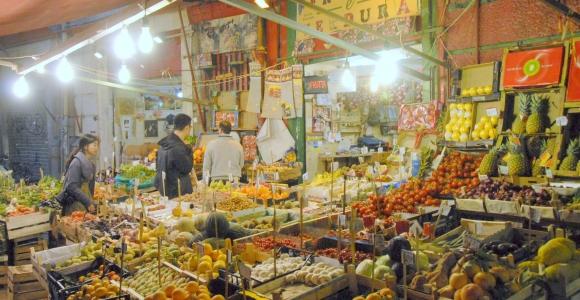 """Open-air market """"Il Capo""""- Palermo"""