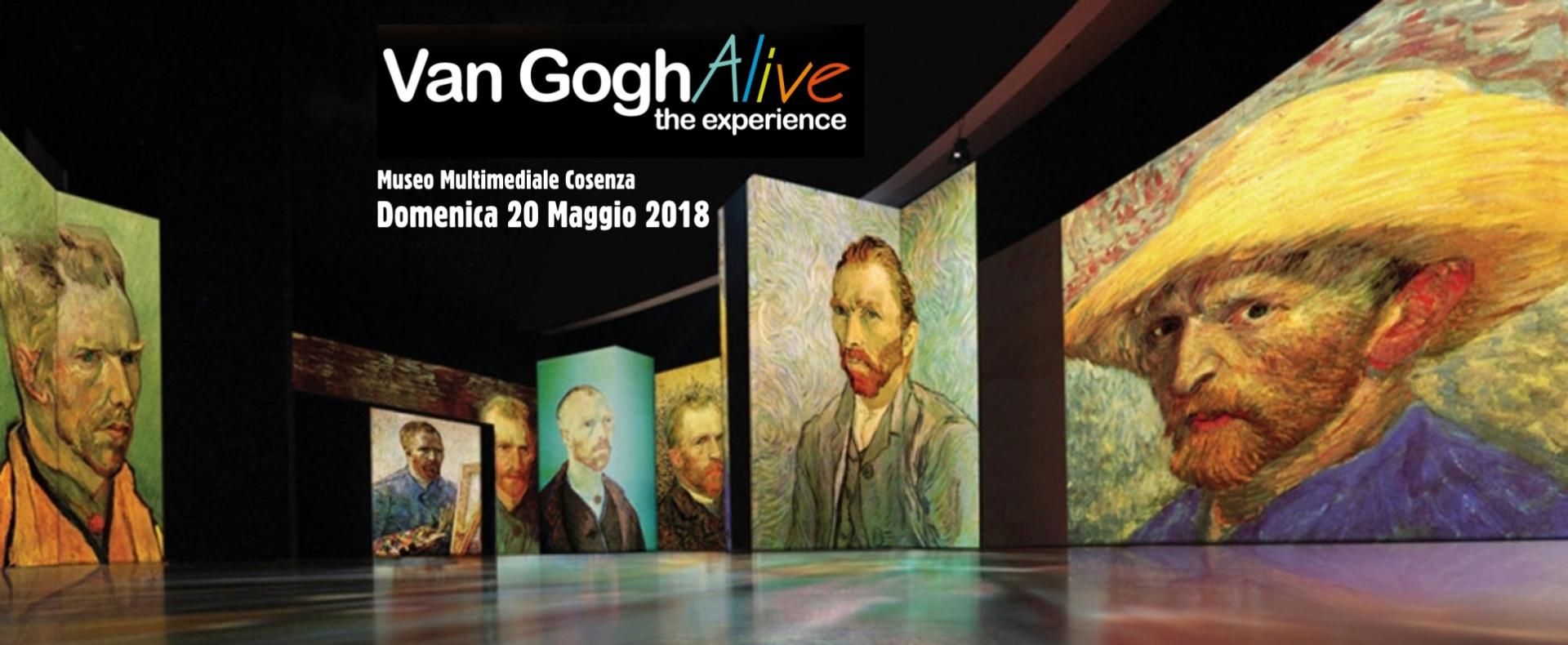 """Scopri """"Van Gogh Alive - The Experience"""" il 20 maggio a Cosenza!"""